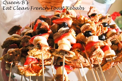 My Eat Clean French Toast Kebabs - minor changes would need to be made ...