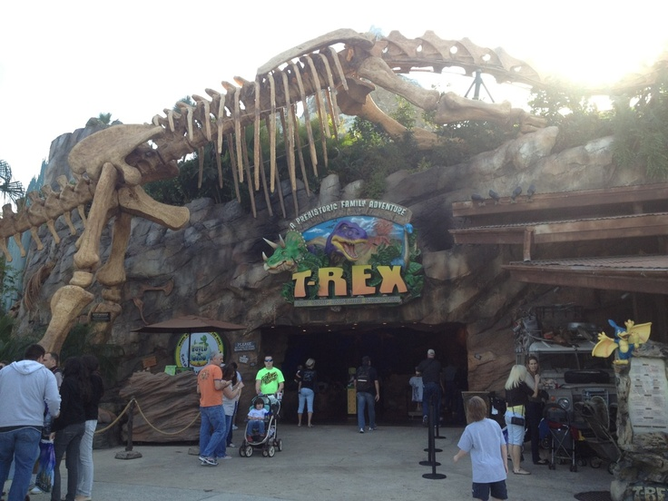 T rex restaurant i love florida pinterest for Restaurant t rex