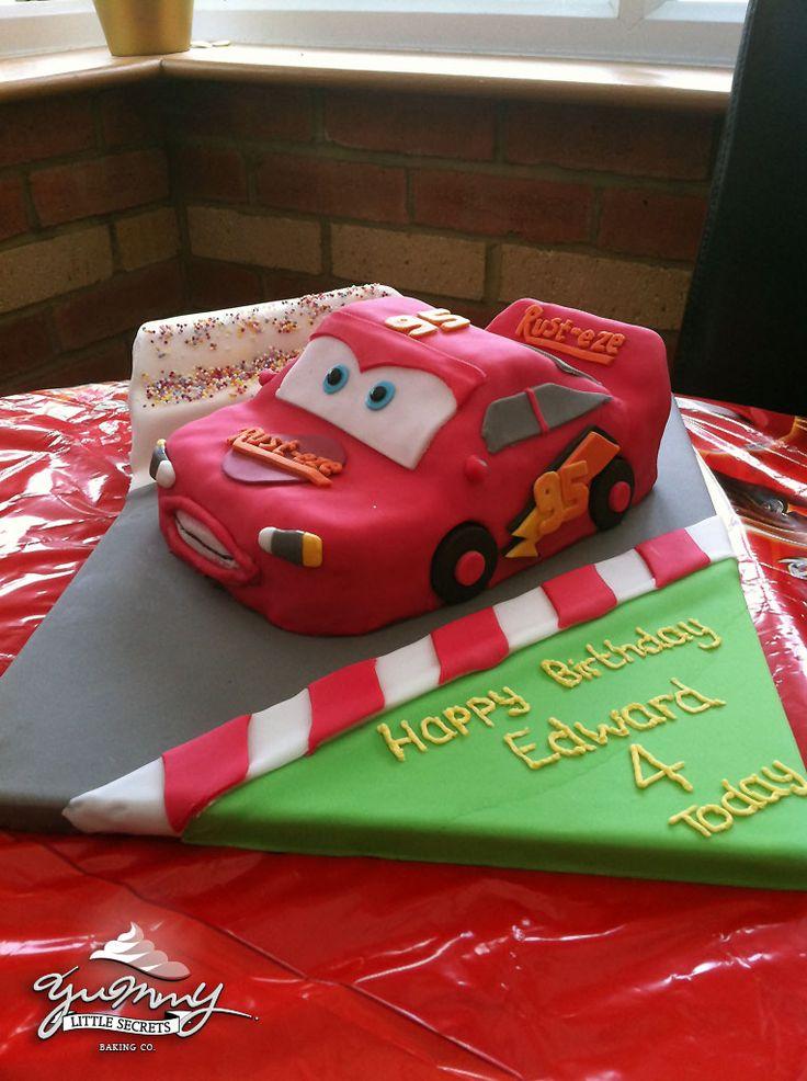 Lightning Mcqueen Birthday Cake Designs : Lightning McQueen Birthday Cake Party Ideas Pinterest