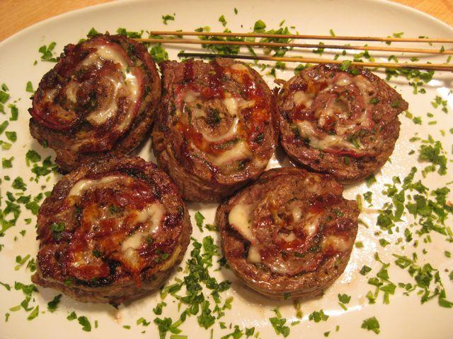 Grilled Stuffed Flank Steak 5 | Delicious | Pinterest
