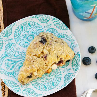 Blueberry White Chocolate Buttermilk Scones on Sarah's Cucina Bella