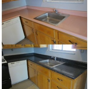 Rust-Oleum Countertop Transformations Kit, Java Stone--TIPS in the ...