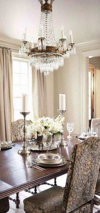 Linda McDougald Traditional Dining Room