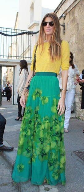 Faldas largas verano 2013: Atrévete con ellas