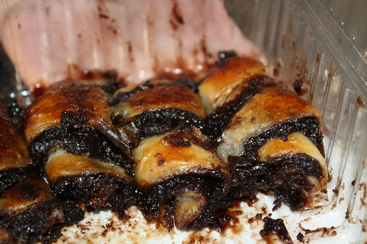 Chocolate Rugelach - Israel 2011 | Food and Drink | Pinterest