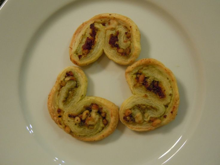 Savory Palmiers- 3 WW Pts | Healthy Recipes | Pinterest