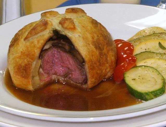 """Classic Beef Wellington, featured on page-58 in """"Ozarks Cooking, Best ..."""