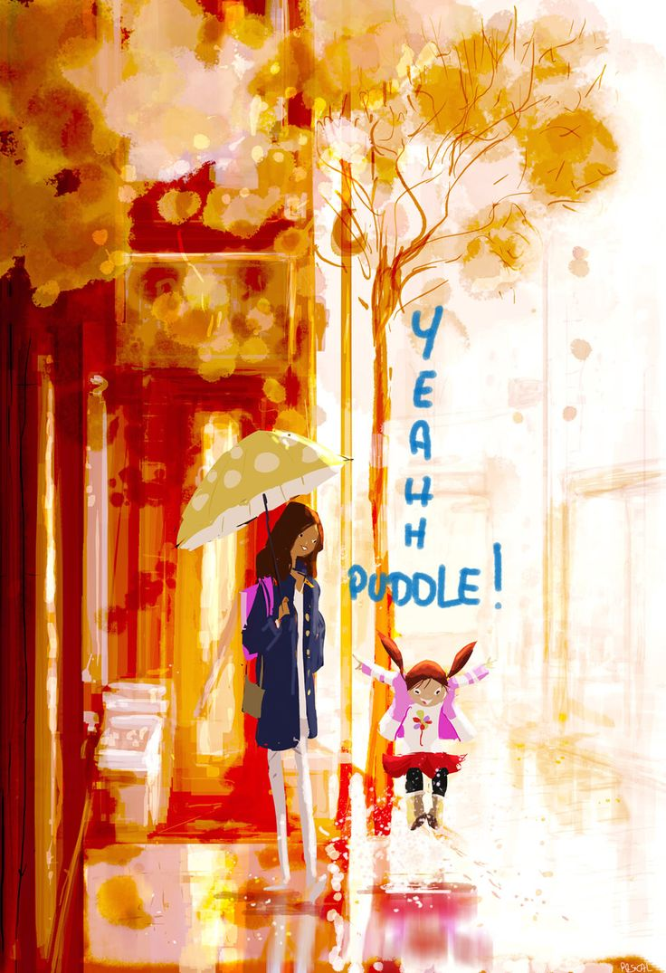 YEAH! Puddle! by PascalCampion.deviantart.com on @deviantART