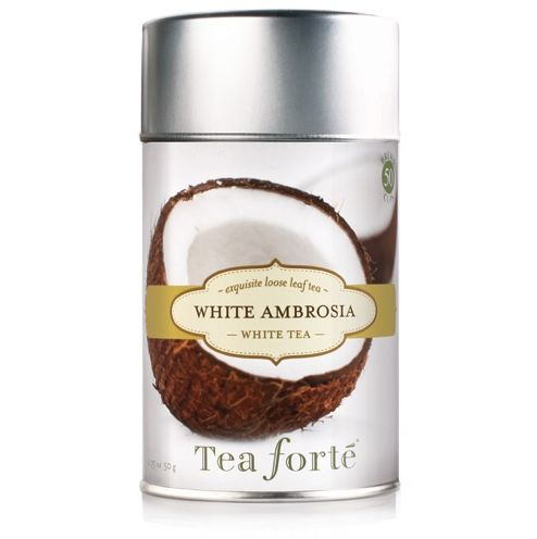 White Ambrosia tea, one of my favorites for summer!