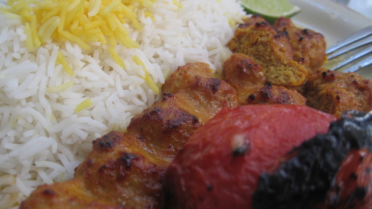 Persian Chicken Kabobs | Yummm :) | Pinterest