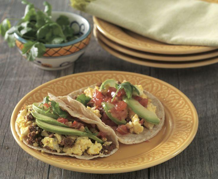 breakfast taco recipes spicy green onion breakfast tacos sweet potato ...