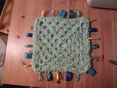 Crochet - Reversible Waffle Baby Blanket - e-Patterns