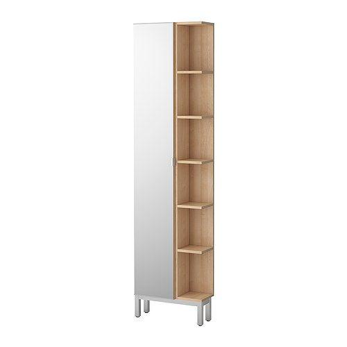 Lillången mirror cabinet 1 door 1 end unit ikea shallow cabinet for