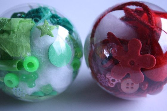 Coloured glass ornaments for kids to make!!