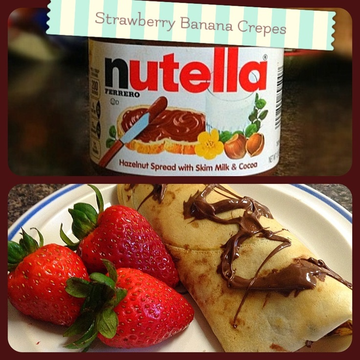 Strawberry Banana Crepes 11-14-12 | Personal Scrapbook | Pinterest