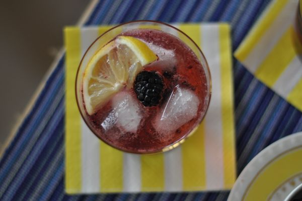 Blackberry Gin Smash | beverages. | Pinterest