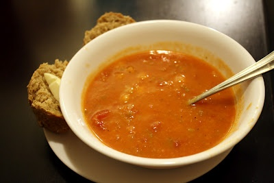 Smoked Paprika Chickpea Soup- Slow Cooker or Stovetop