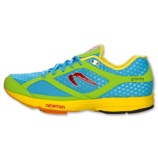 Newton Gravity Women s Running Shoes SALE   Run.com   BLU/GRN/YEL
