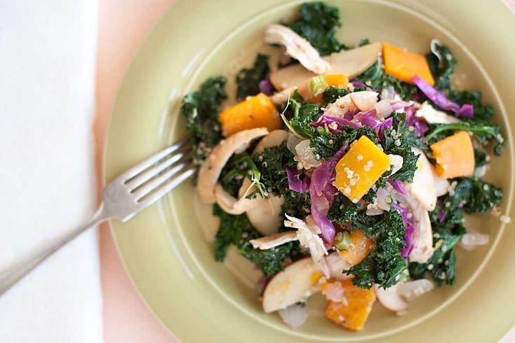 Kale-Quinoa-Salad2 | Salads | Pinterest