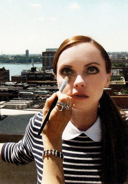 Christina Ricci, makeup, Thrifty Finn