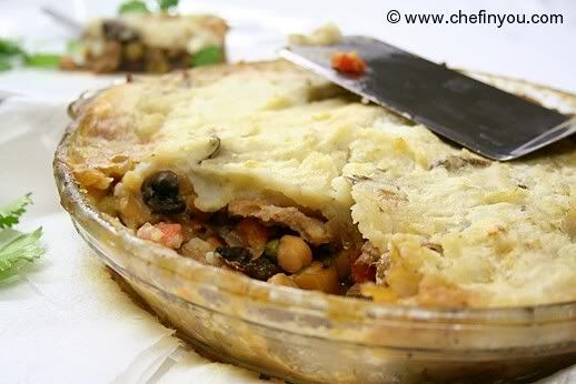 Vegetarian Shepherd Pie Recipe - This recipe looks fairly simple with ...
