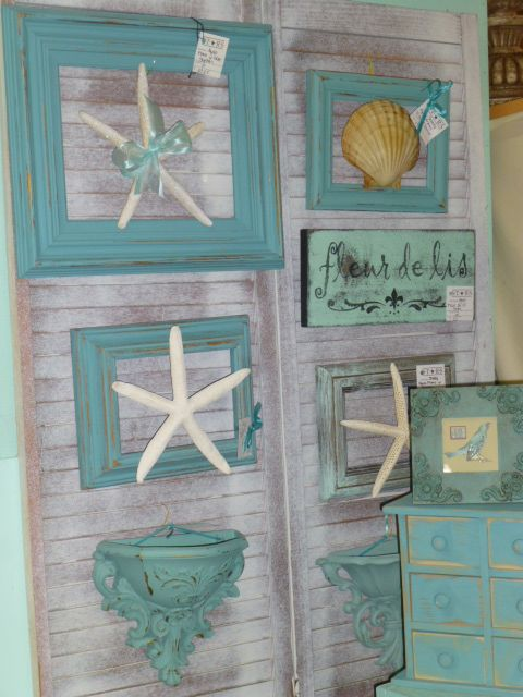Beachy Wall Art Home Glam Pinterest