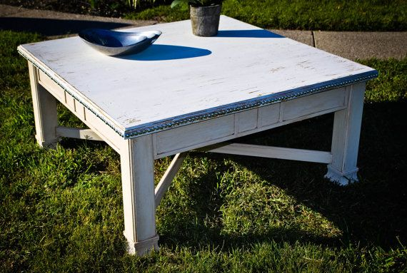 Cottage Style Coffee Table On Etsy