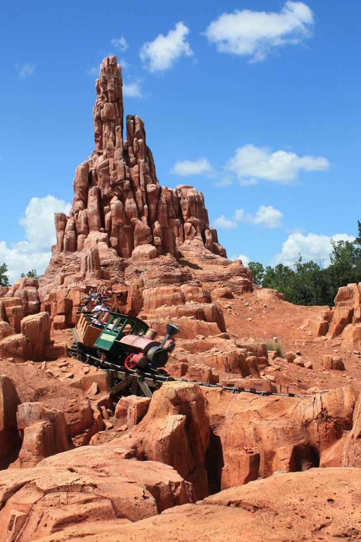 big thunder mountain railroad - photo #11