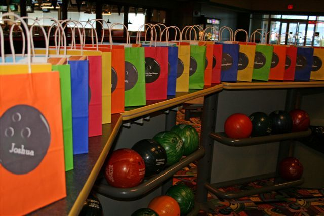 Shower of Roses: A Bowling Birthday Party