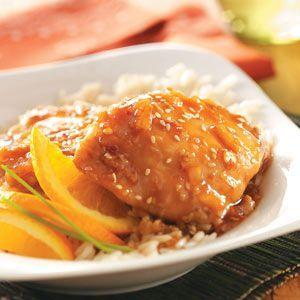 Sesame Orange Chicken Recipe 1/2 cup all-purpose flour 4 pounds ...