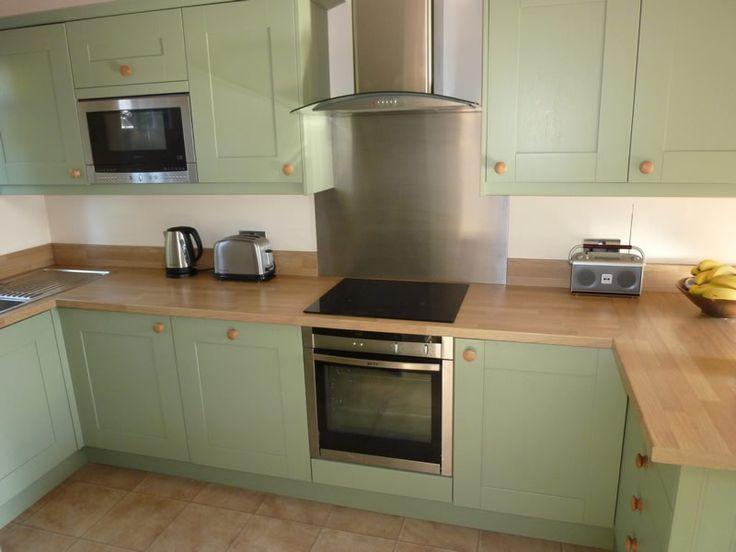 Light Green Kitchen Green Kitchens Pinterest