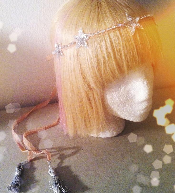 ... Crown Dancer Headband-Antique New Years Eve Sparkle Art Deco Tiara. $