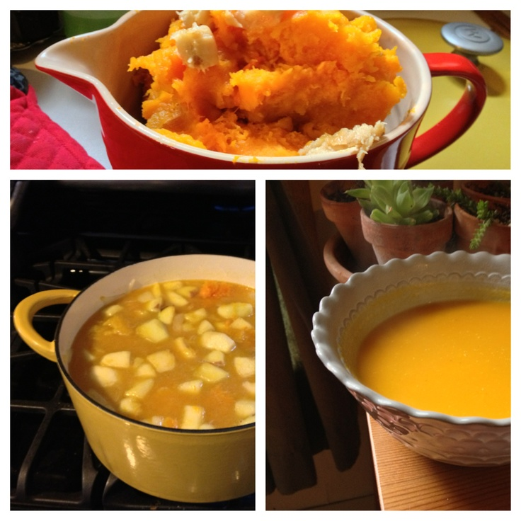 Super Simple Roasted Winter Squash Soup that is gluten free and vegan ...