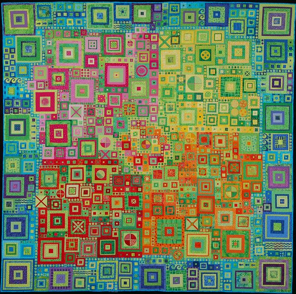 Quilt by Kathy York.