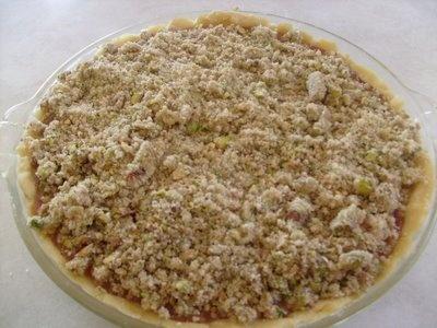 Sour Cherry Pie With Pistachio Crumble | sugar lips | Pinterest