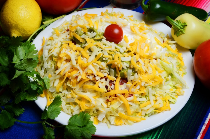 Tostada Salad | Recipes | Pinterest