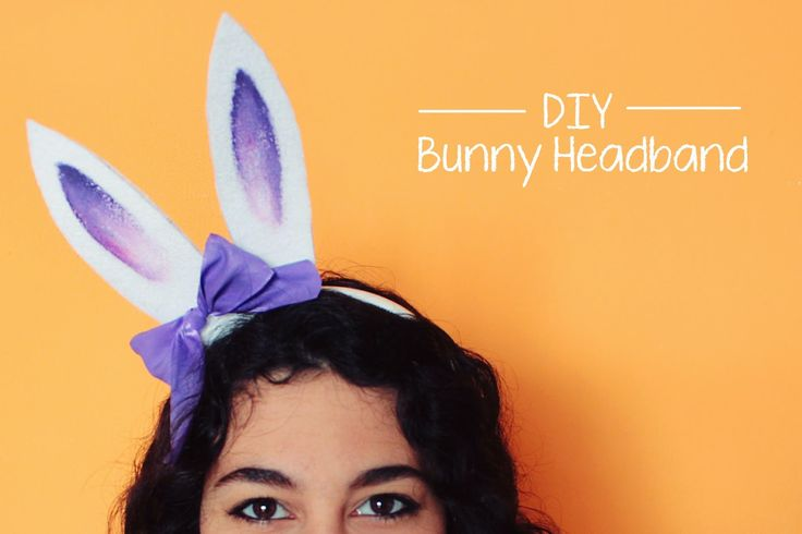Curly Made: DIY Bunny Headband