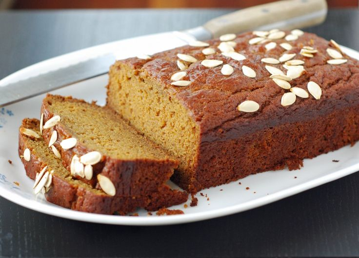 Olive oil pumpkin bread. Yum! | Recipes | Pinterest
