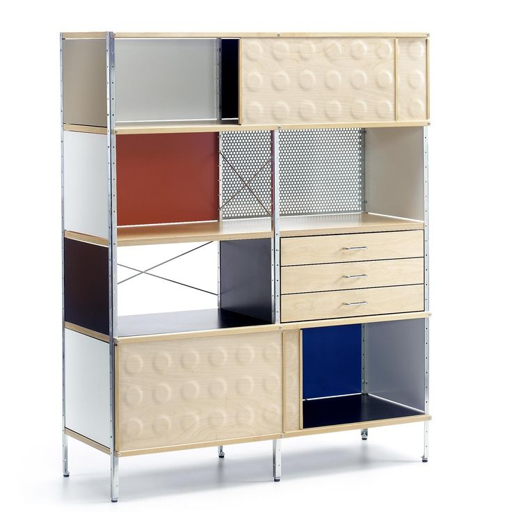 Eames Storage Unit Esu Bookcase Eames Home Pinterest