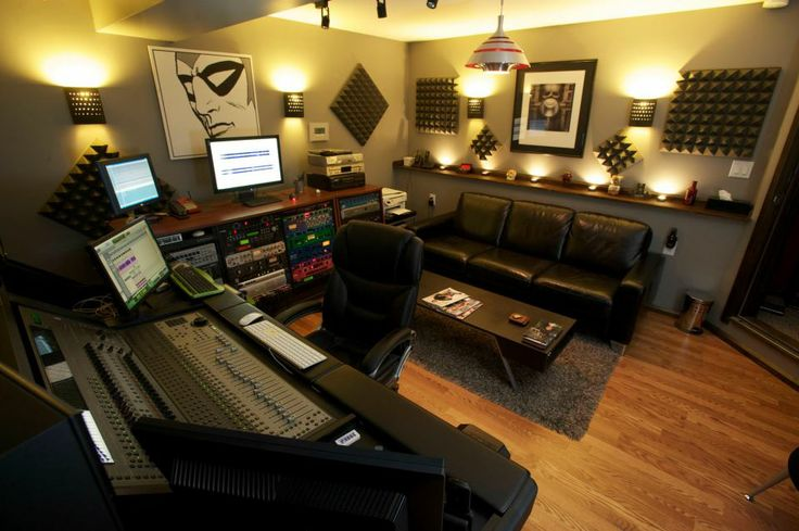 Have a recording studio in my home music recording for The family room recording studio