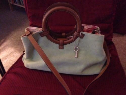 fossil Handbag/spring Green