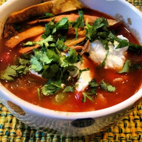 Vegetarian Tortilla Soup | Must Try Recipes | Pinterest