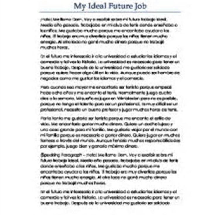 Write my future plans essay sample
