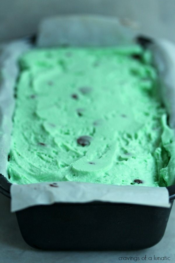 Mint Chocolate Chip Ice Cream Cake | Cravings of a Lunatic | # ...