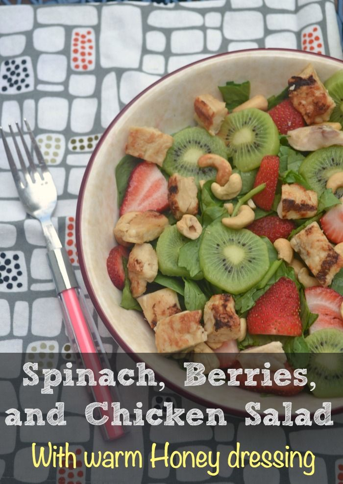 Coconut Chicken Salad With Warm Honey Mustard Vinaigrette Recipe ...