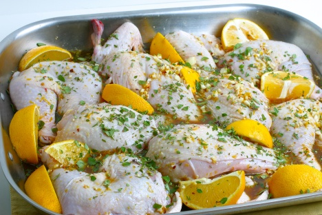 Citrus-Marinated Roasted Chicken | Food | Pinterest
