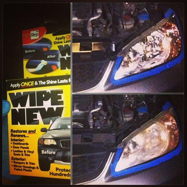 Honda Civic Headlight Restore - #wipenew   Wipe New Cars   Pinterest