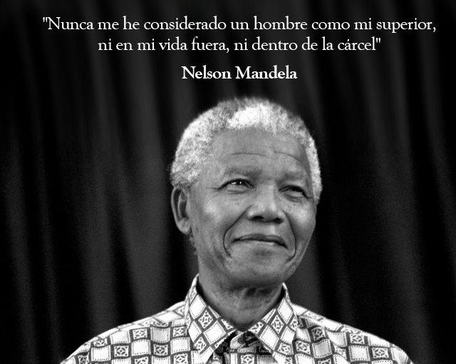 10 frases de Nelson Mandela: http://www.muyinteresante.es/historia/articulo/10-frases-de-nelson-mandela