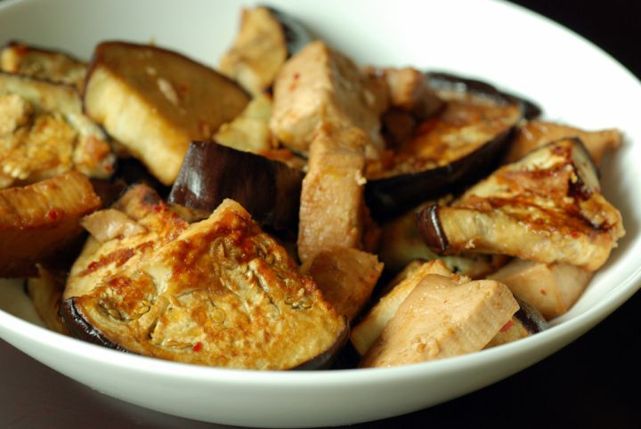 Lemon Miso Tofu and Eggplant | Recipes | Pinterest