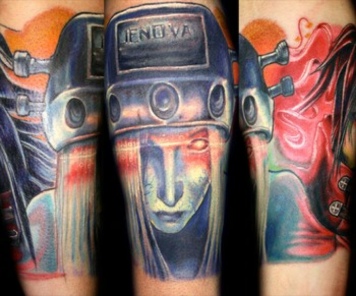 Pin final fantasy sleeve tattoo pictures to pin on pinterest on